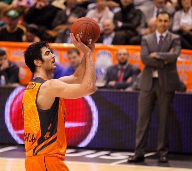 Juan José Triguero, del Valencia Basket