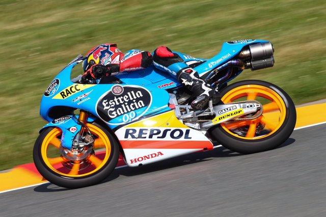 Alex Rins en el GP Alemania