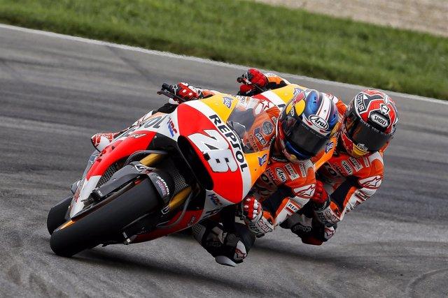 El piloto español Dani Pedrosa (Repsol Honda)