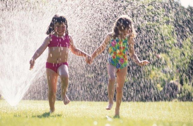 Niños, calor, verano