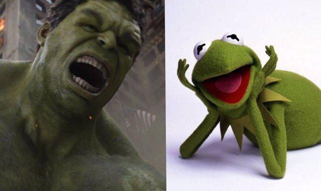 Hulk y la Rana Gustavo