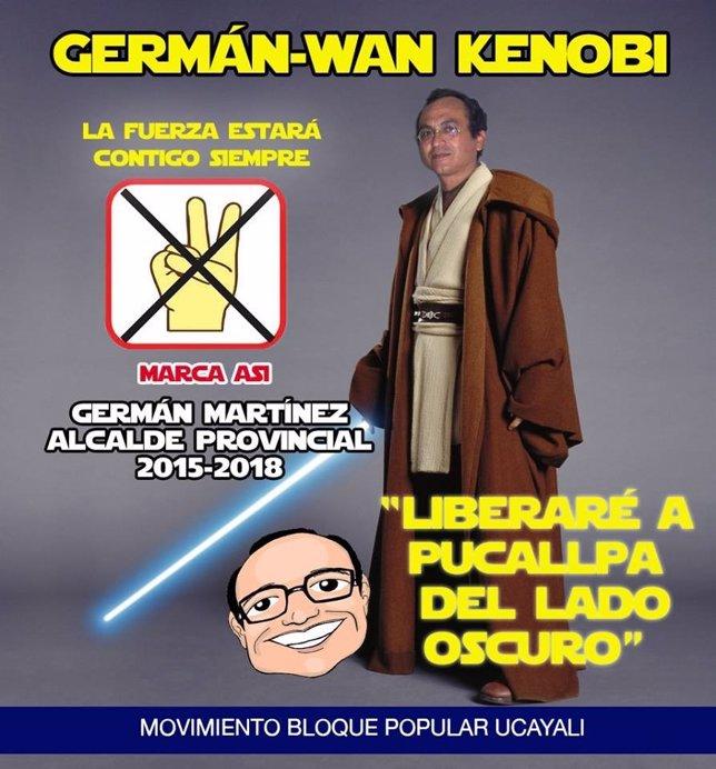 Germán Martínez, político peruano