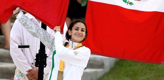 La clavadista Paola Espinosa