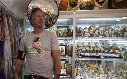 """Mickey Rourke es fan Putin: """"Creo que es un buen tío"""""""