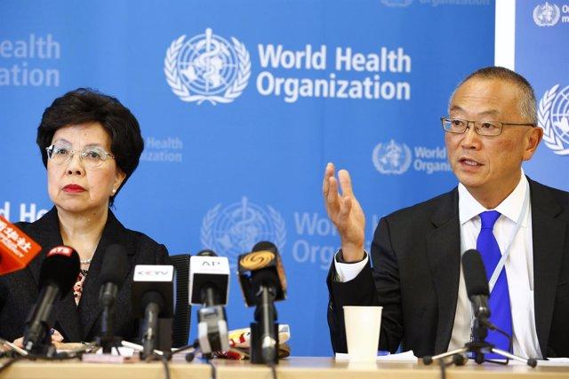 Director General de la Organización Mundial de la Salud (OMS) Margaret Chan