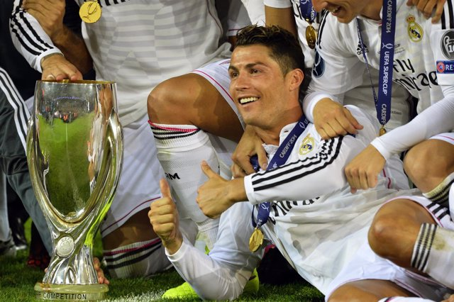 Real Madrid Cristiano Ronaldo Supercopa