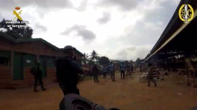 Patrullas de prevención de la Guardia Civil en la República Centroafricana