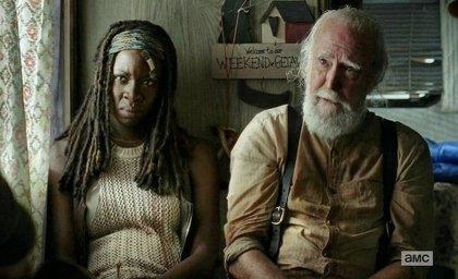 Escena inédita de The Walking Dead con Hershel y Michonne
