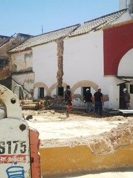Obras para preservar la Torre del Olivo