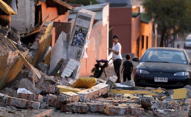 Terremoto en Chile, 2014.