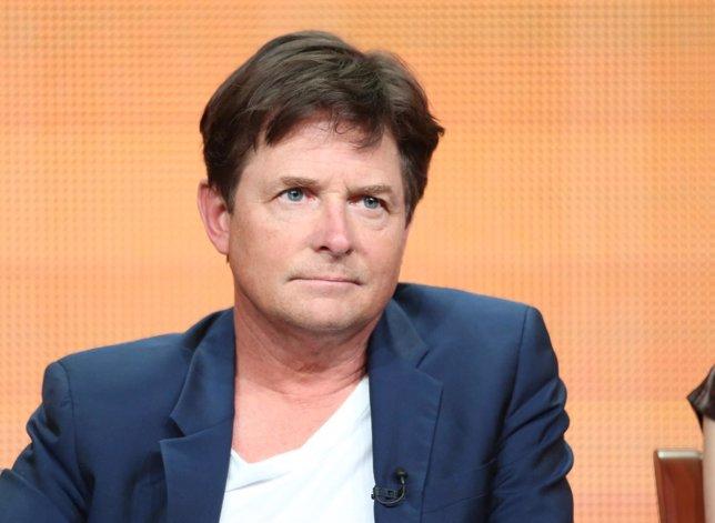 : Actor  Speaks Onstage During  Michael J.FOX