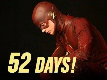 Nueva imagen de The Flash celebra los 52 días para su estreno