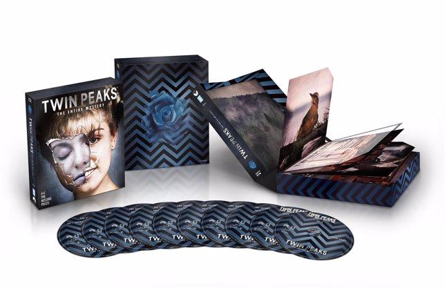 SORTEO: Cinco libros con Twin Peaks - El Misterio Completo