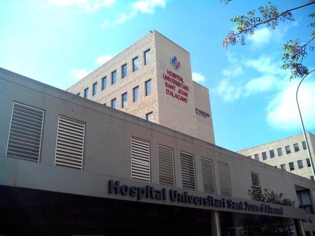 Fachada del Hospital Sant Joan de Alicante