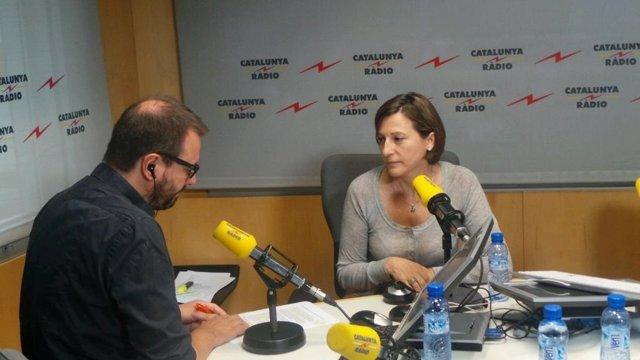 Carme Forcadell (ANC) en Catalunya Ràdio