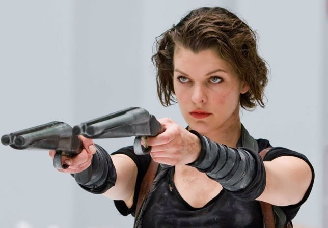 Milla Jovovich, protagonista de la saga Resident Evil
