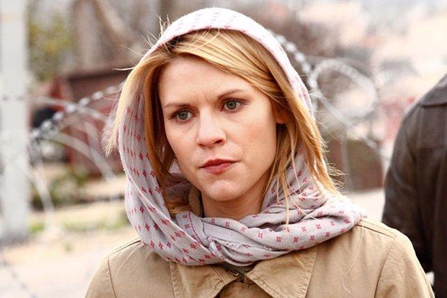 La actriz Claire Danes en una escena de Homeland
