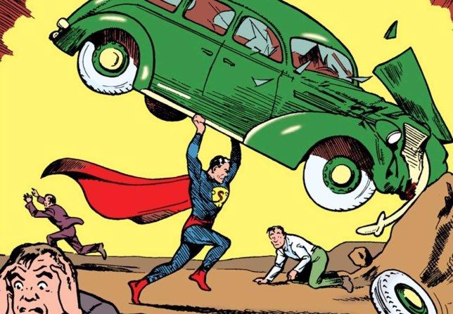 Número 1 de Action Comics con Superman
