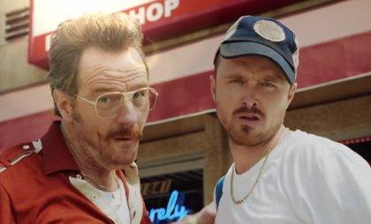 Bryan Cranston y Aaron Paul (Breaking Bad), reunidos por los Emmy