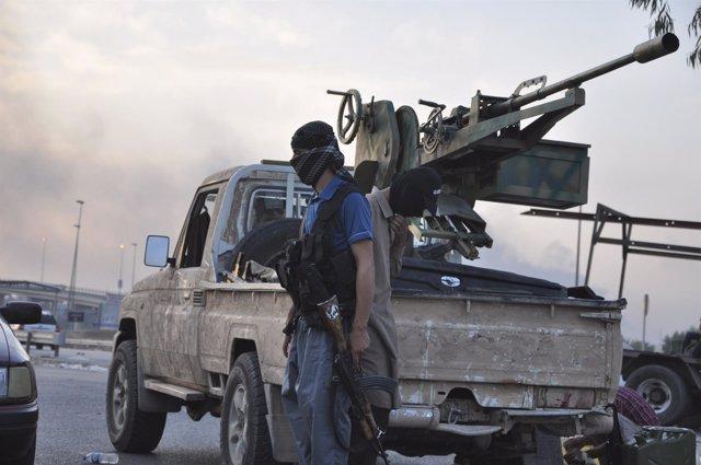 soldado del Estado Islámico