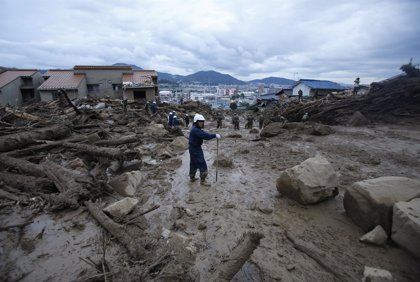 Asciende a 39 el número de muertos por las lluvias torrenciales en Hiroshima
