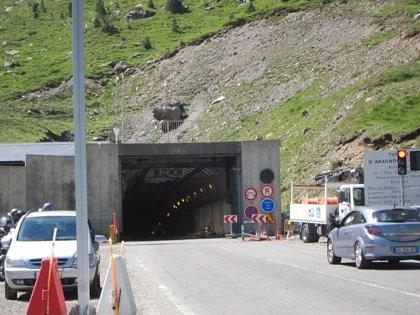 El Túnel de Bielsa permanece cerrado esta noche