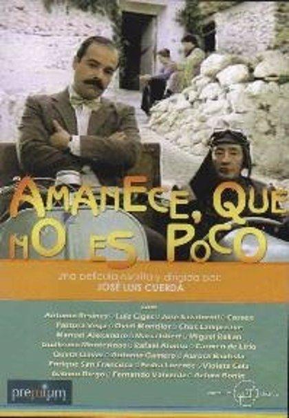 La cinta 'Amanece, que no es poco' se proyecta este jueves en la Filmoteca d'Estiu