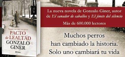 Gonzalo Giner presenta hoy su novela 'Pacto de Lealtad' en Santander