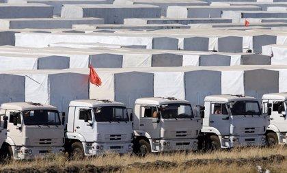 El Gobierno de Ucrania aplaza la entrega de la ayuda rusa