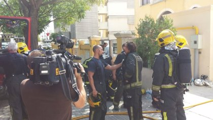 Un incendio obliga a desalojar un hotel de Palma
