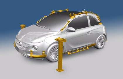 Opel utiliza 40 piezas hechas en impresoras 3D en el nuevo Adam Rocks