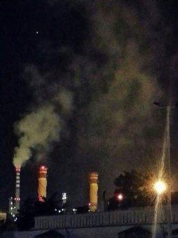 Una de las emisiones denunciadas por Verdemar-Ecologistas en Acción