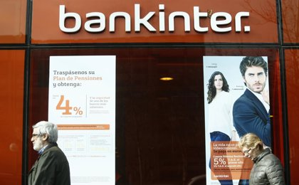 Economía/Finanzas.- Bankinter incrementa un 50% la captación de cuentas nómina hasta julio