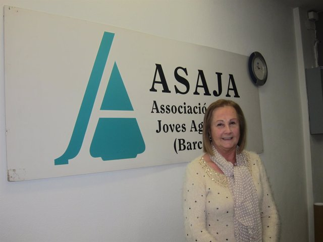 La presidenta de Asaja Barcelona, Rosa Pruna