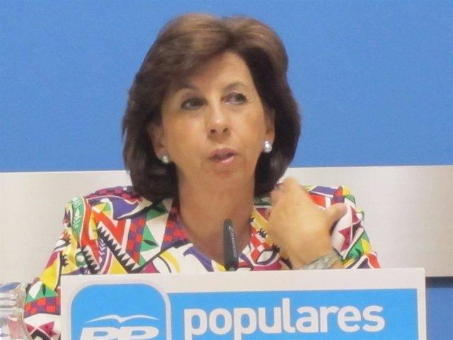 La concejal del PP, Reyes Campillo
