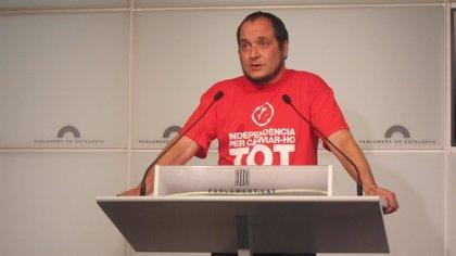 La CUP condiciona su apoyo a la plataforma de Ada Colau a que expulsen a ICV