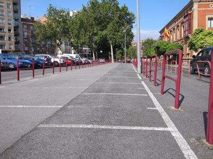 El PSOE pide que se recuperen las plazas de aparcamiento inutilizadas por motivos de seguridad frente a atentados