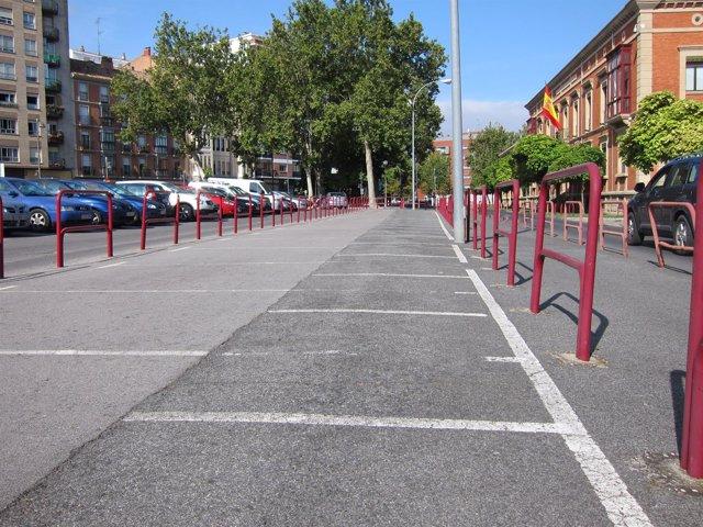 Plazas de aparcamiento no utilizadas en la Delegación del Ministerio de Defensa