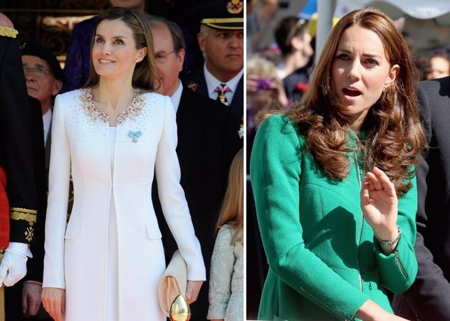 Letizia Ortiz Kate Middleton
