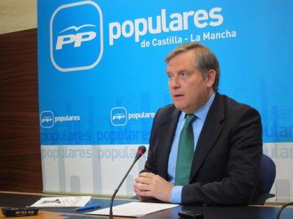 """PP C-LM pide a Page que diga """"claramente"""" si está decidido a propiciar una alianza con IU y Podemos para gobernar Toledo"""