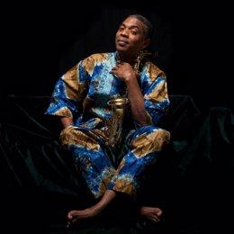 Femi Kuti, hijo del creador del afrobeat, Fela Kuti.