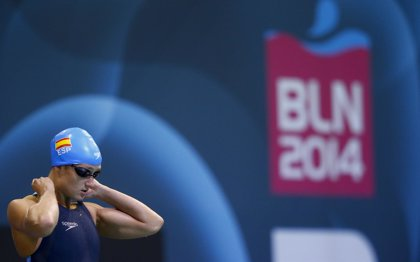 Mireia Belmonte consigue la plata en 800 metros