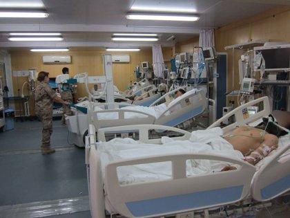 El hospital militar español en Afganistán atiende a su paciente 30.000