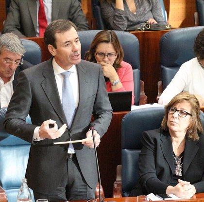"""Tomás Gómez rechaza la reforma local del PP porque """"no estaría nada claro"""" el futuro de los servicios públicos"""