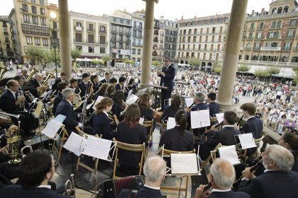 La Banda de Música Doinua de Berriozar ofrece este viernes un concierto en la Plaza del Castillo