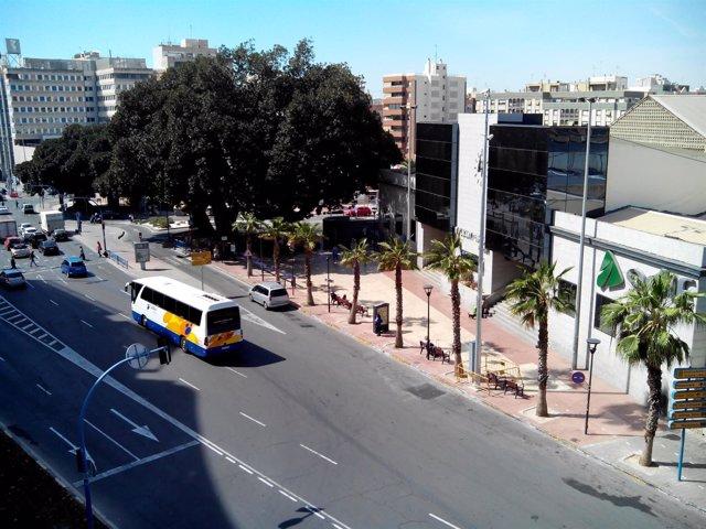 La estación del AVE en la ciudad de Alicante