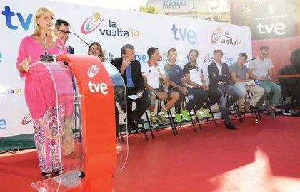 RTVE emitirá 50 horas en directo de la 69ª Vuelta a España