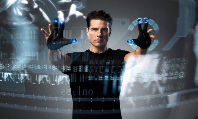 Tom Cruise en Minority Report