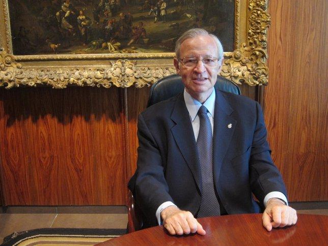 El presidente de la Cámara de Comercio de Barcelona, Miquel Valls