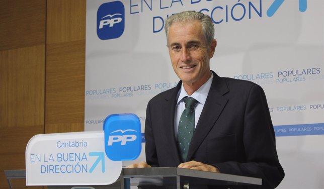 José Manuel Igual, diputado del PP cántabro